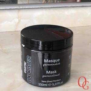 Masque colorant noir – Tulipe noire
